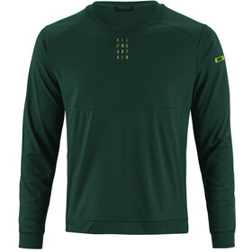 Cube AM Round Neck Jersey longsleeve Herr dark green